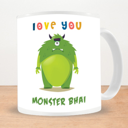 Monster Bhai Photo Mug