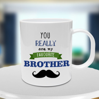 Favorite Brother Mug