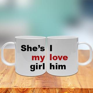 Shes my Girl Couple Mug