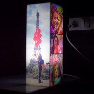 Personalized Pillar Photo Lamp