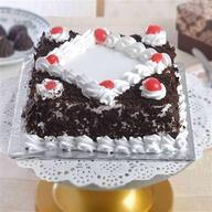 Yummy Square Blackforest Cream Cake