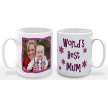 World's Best Mum Photo Mug