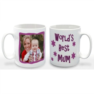World's Best Mum Photo Mug
