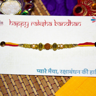 Beautiful Rudraksh Rakhi
