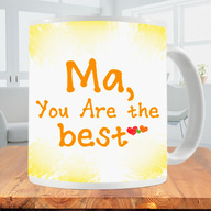 Ma You are the Best Photo Mug
