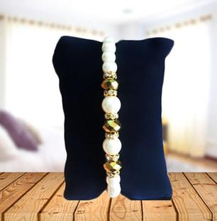String of Pearls Rakhi