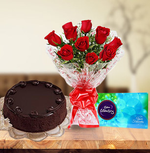 Roses, Cake & Chocolate