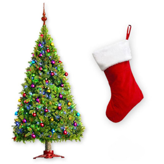 Christmas Tree & Stocking