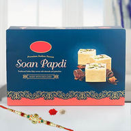 Soan Papdi with Rakhi