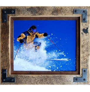 Photo on Wood & Metal Frame