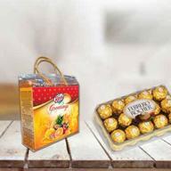 Ferrero Rocher with Real Juice