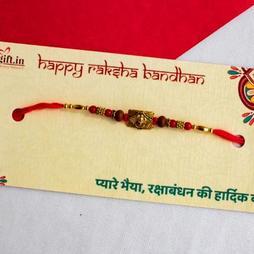 Elegant Ganesha Rakhi