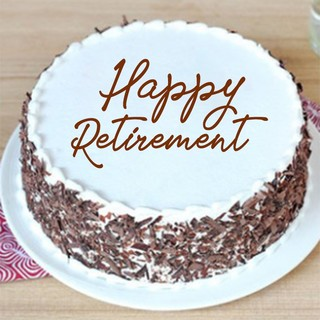 Retirement Delicious Black Forest Cake