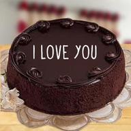 Valentine Chocolate Truffle Cake