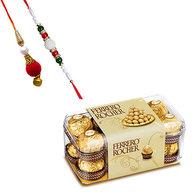 Ferrero Rocher and Bhaiya Bhabhi Rakhi
