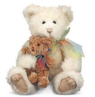 Baby With Mom - Teddy Bear