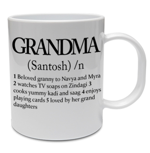 Personalised Relation Mug