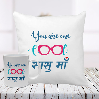 Best Sasu Maa Cushion Mug Combo