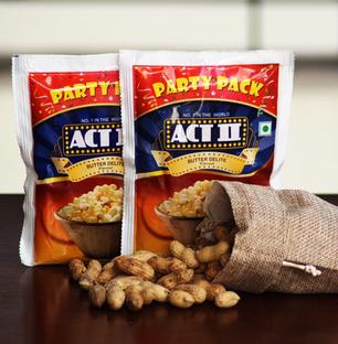 Popcorn with Peanuts