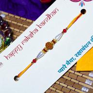 Beads Rudraksh Rakhi