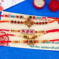 Stylist Rakhi Combo of 5
