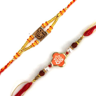 Set of 2 Rakhis-Shri Ganesh