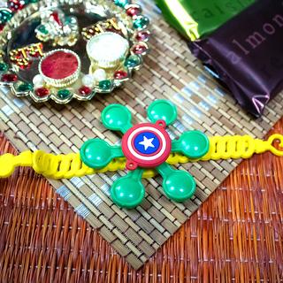 Kids Fidget Spinner Rakhi