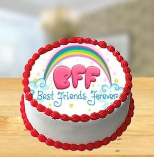 Photo Cake for Friends