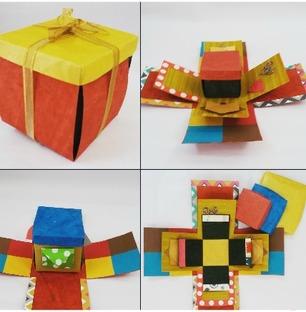 3 Layer Explosion Box