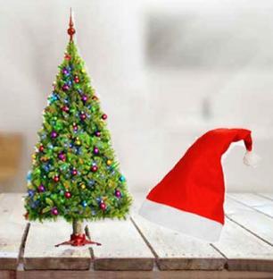 Christmas Tree & Cap