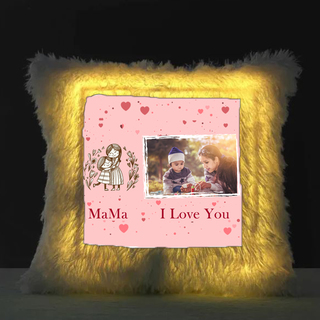 I Love You Mom - LED Cushion