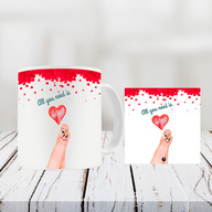 Valentine Table Top and Mug Combo