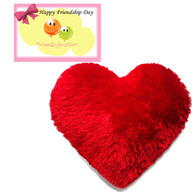 Heart Cushion with Card