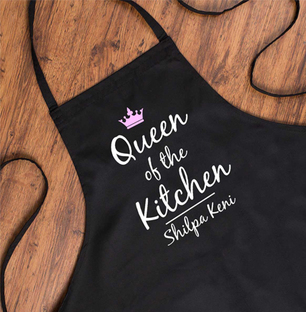 Personalised Kitchen Apron Free Shipping | Indiagift