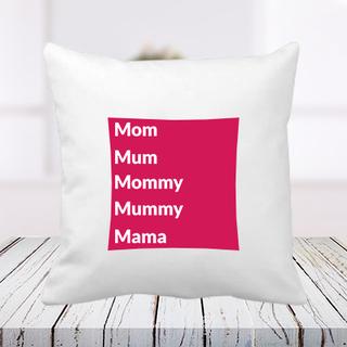 Mom Synonyms Cushion