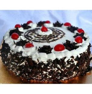Valentine Black Forest Gateau Cake