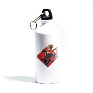 Captain Marvel Metallic  Sipper