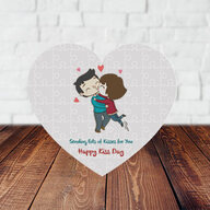 Kiss Day Personalized Puzzle