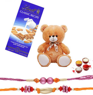 Lindt Swiss, Teddy with Rakhi