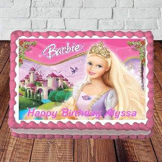 Send Barbie Birthday Cake Online In India At Indiagift In