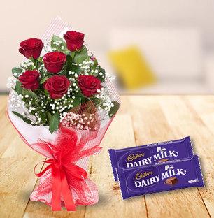 Chota Combo - Dairy Milk & Roses
