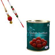 Gulam Jamun Tin with Lumba Rakhi