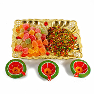Diwali Mukhwas Tray with Candy