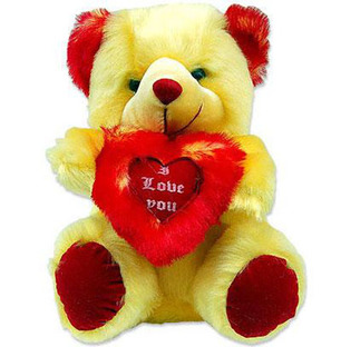 Teddy With Heart (Small)