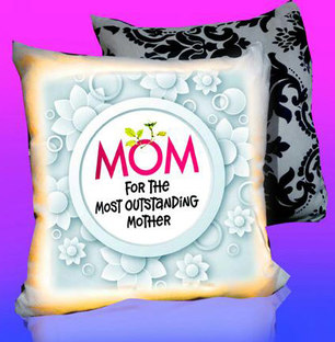 Mothers Day LED Cushion Outstanding Mom