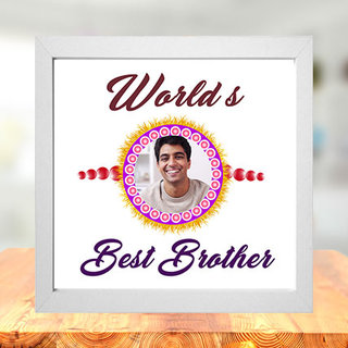 Worlds Best Brother Photo Frame