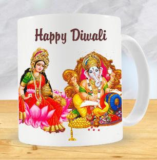 Lakshmi Ganesha Diwali Mug
