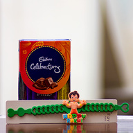 Chota Bheem Rakhi with Chocolates
