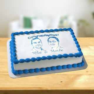 Congratulations & Celebration Cake