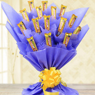 Valentine 5 Star Chocolate Bouquet
